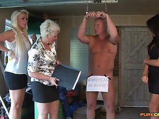 Amateur motion picture of matures having some dirty fun with one learn of