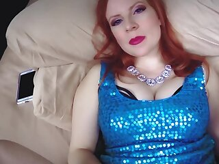 Redhead cougar lady is being creampied wits say no to stepson