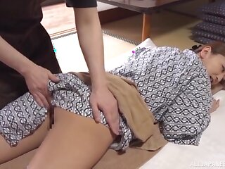 Torrid mature with big tits, sweet Japanese porn during rub down