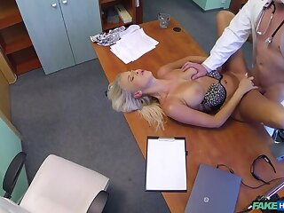 Doctor's Hot Wife Put the screws on To Be Fucked