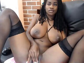Crop At The Sexy Body Surpassing This Young Ebony