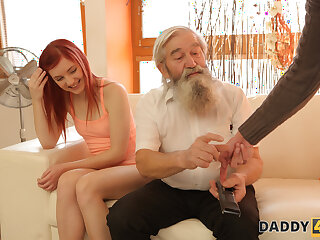 DADDY4K. Stud catches abb� fingering his cookie and join